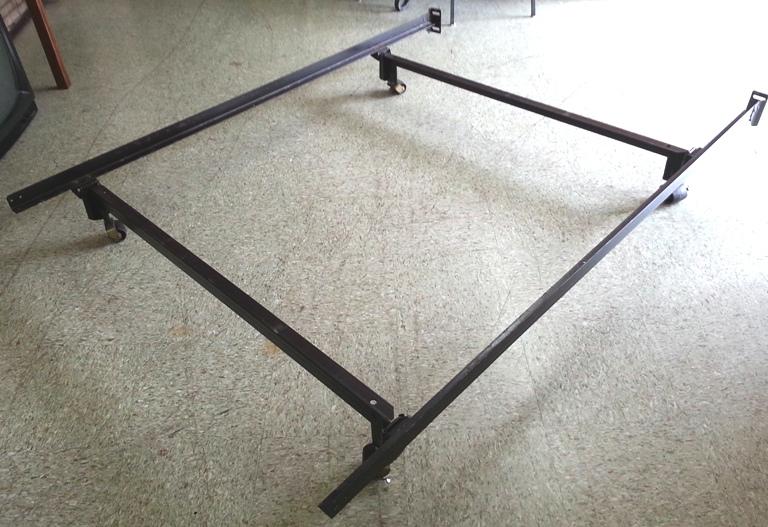 full size metal bed frame preferred hospitality services. Black Bedroom Furniture Sets. Home Design Ideas